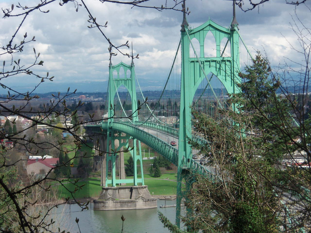 St. John's Bridge, Portland, OR